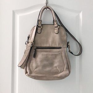 Urban expressions distressed hobo bag